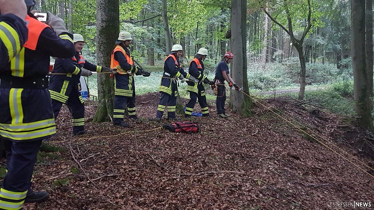 Feuerwehr kennenlernen