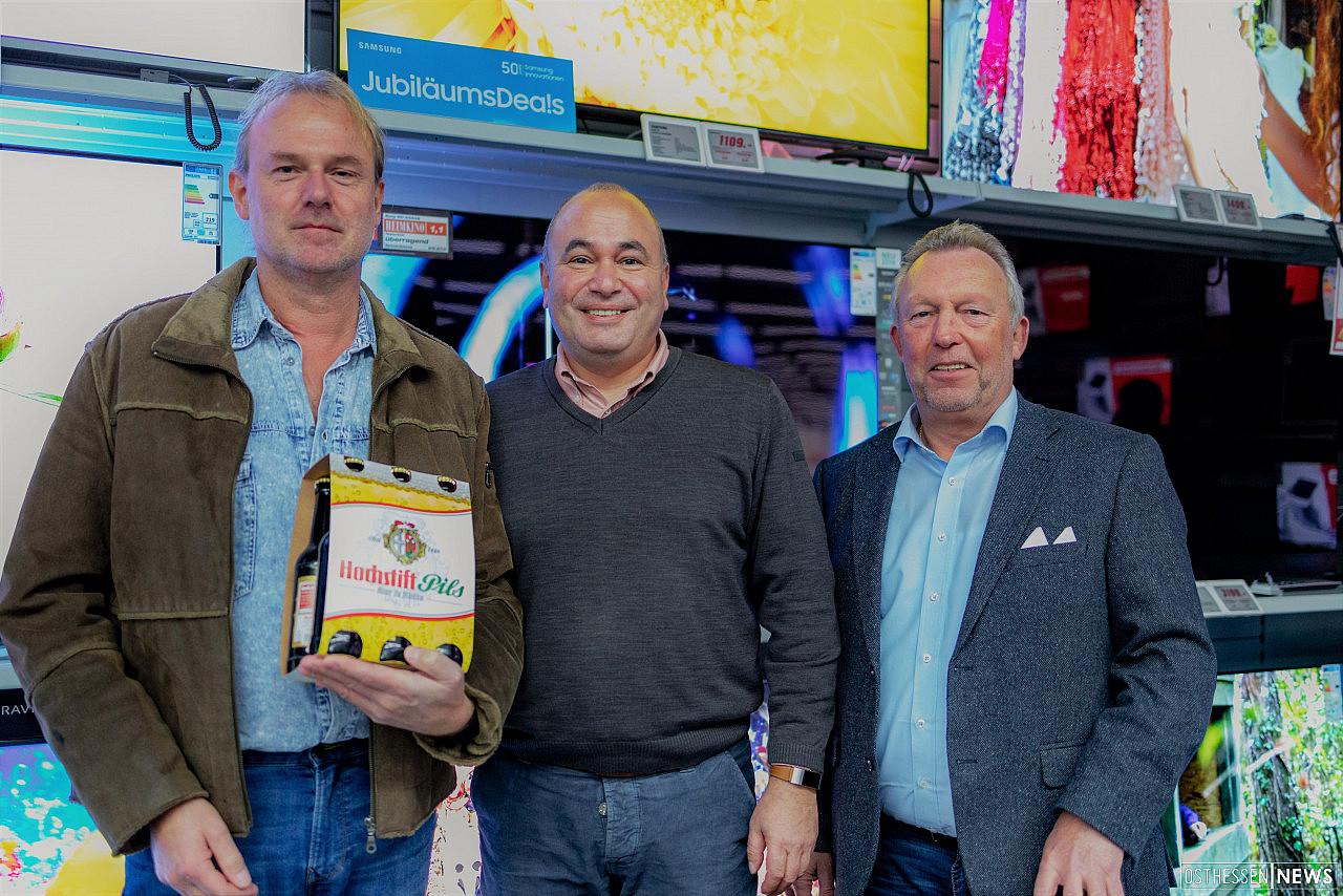 Kronkorken Zum Gluck Mit Hochstift Und Mediamarkt Fernseher Gewonnen Osthessen News