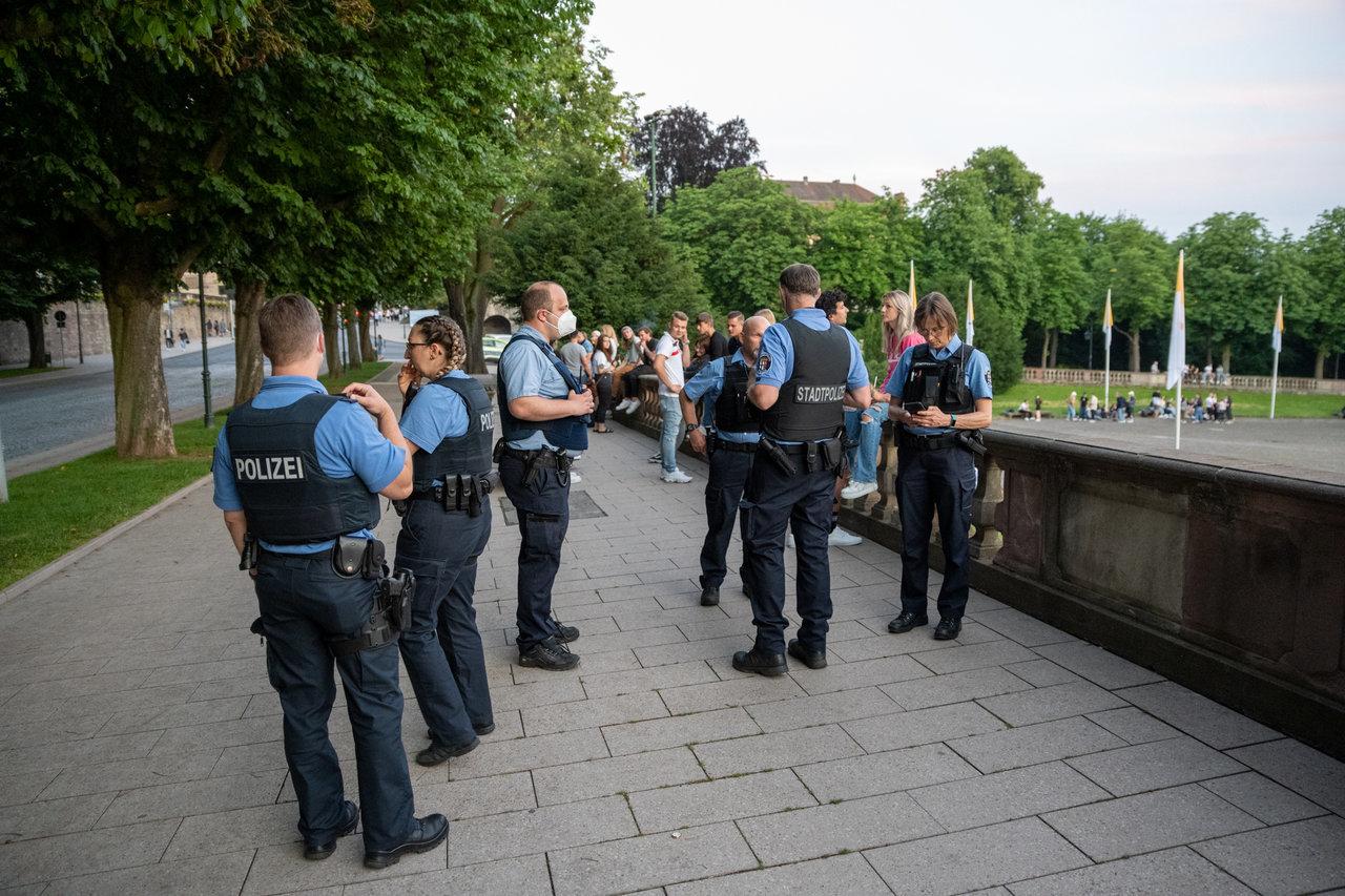 Polizisten einem zusammenleben mit Wenn Polizisten