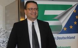 Politik-Neuling Dr. Andreas Ritzenhoff referiert bei der Europa-Union