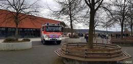 Aufregung in den Schulen am Obersberg: Mehrere Feuermelder gedrückt