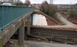 B 62: Einbahnregelung wegen Brückenbauarbeiten an zwei Wochenenden