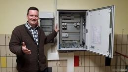 Elektrik am Wasserwerk Ohmes erneuert
