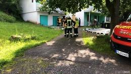 Fehlalarm in Gersfeld-Untergichenbach: Kein Rauch oder Feuer zu sehen