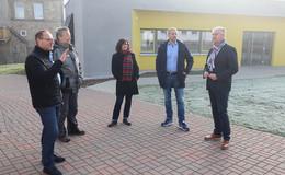 Erweiterungsbau Bonifatiusschule mit zwei neuen Klassenräumen