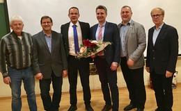 Matthias Breitenbach ist der Bürgermeisterkandidat der CDU