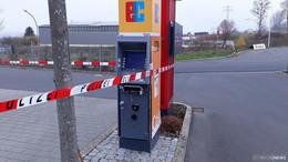 Geldausgabeautomat gesprengt: Beute unklar, Sachschaden rund 5.000 Euro