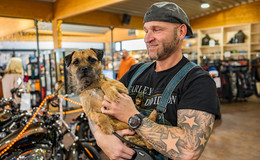 Adventliches Open House bei Harley Davidson