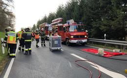 Tödlicher Verkehrsunfall auf L 3333: Unfallursache unklar