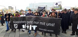 Große Demo: 500 Weidetierhalter fordern vernünftiges Wolfsmanagement
