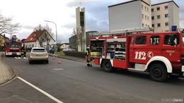 Feuerwehreinsatz in Hermann-Heres-Straße: Essen angebrannt