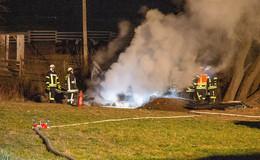 Hilderser Wehrführer stellt nach Brandeinsatz klar: Nutzfeuer war illegal