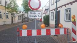Vollsperrung der Mühlenstraße wird bis 5. Juni verlängert