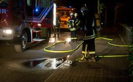 Brennender Kanister löst Feuerwehreinsatz aus