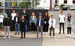 23 Auszubildende und Studenten starten am Standort Fulda in die Zukunft