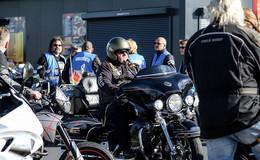 Motorradfahrer demonstrieren gegen Fahrverbote
