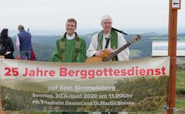Abschiedsgottesdienst auf dem Simmelsberg für den singenden Pfarrer Dauner