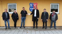 Für eine neue Grillhüte: Finanzspritze vom Land für den SV Kathus