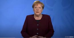 Kanzlerin Merkel appelliert: Bitte bleiben Sie, wenn immer möglich, zuhause!