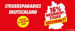 Auf ins Steuersparadies: MediaMarkt Fulda schenkt die Mehrwertsteuer
