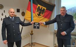 Steffen Rieger wird neuer Stellvertreter der Bundespolizeiabteilung Hünfeld