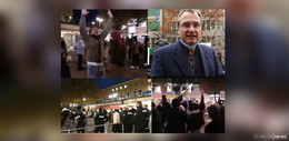 Vorfall am Bahnhofsvorplatz: Ein Rechtspopulist zwischen Allahu akbar- Rufern