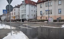 Umleitung wird ausgeschildert: Kanalbauarbeiten an der Meisebacher Straße