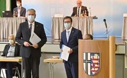 Als Vize-Landrat wiedergewählt: Frederik Schmitt (CDU) bleibt im Amt