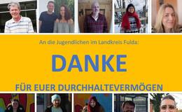 Dank an Jugendliche in der Pandemie: Sind nur Anruf oder Nachricht entfernt