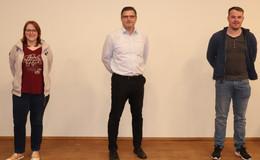 Zwei Neulinge und ein alter Hase: SPD mit neuem Fraktionsvorstand