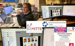 Erster Online-Informationsabend von BBZ Mitte und Kreishandwerkerschaft