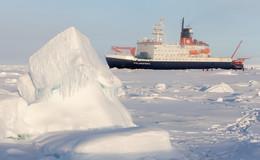 Metallfreies Labor: Ein Stück Vogelsberg auf dem Forschungsschiff Polarstern