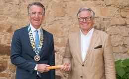 Rotary Club Rhön: Rainer Klaus übernimmt das Präsidentenam
