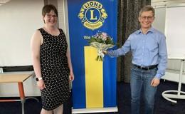 Lions Club hat neue Präsidentin: Sandra Koch ins Amt eingeführt