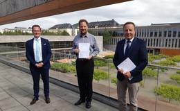 Neue Partnerschaft zwischen Hochschule Fulda und der Hohen Landesschule