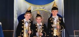 Im Jubiläumsjahr des CVH regieren drei Prinzen die Kindernarrenschar