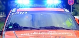 Küchenbrand in der Innenstadt: Mann schwer verletzt in Klinik gebracht