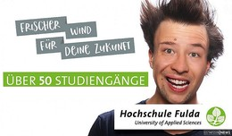 Frischer Wind für Deine Zukunft! Studiere an der Hochschule Fulda