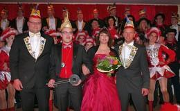 Inthronisierung des neuen Prinzenpaares in der Hochburg Grüsselbach