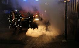 Leitstelle meldet: Kellerbrand in der Innenstadt - Lage unter Kontrolle