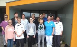 Zukunftstag für Mädchen und Jungen im Pflegezentrum Hofbieber