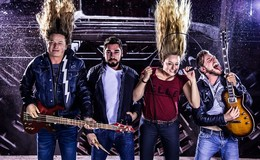 Die Contraband – Osthessische Rockgruppe  heute in Alter Piesel
