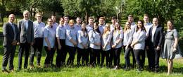 18 Nachwuchs-Führungskräfte im Bonifatiushaus begrüßt