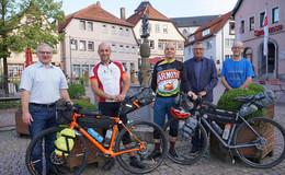 Mit dem Fahrrad aus der Rhön nach Südfrankreich