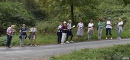Frauen aus dem Hessischen Kegelspiel wallfahren zum Gehilfersberg