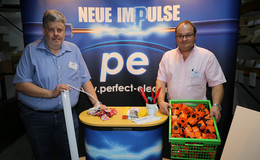 Hersteller aus der Welt der Elektrotechnik präsentierten ihre Produkte