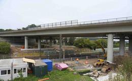 Abbruch und Neubau der Talbrücke Götzenhof
