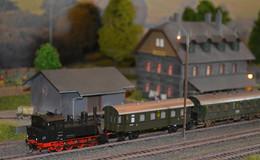 Alle einsteigen Eisenbahnerlebnisse rund um den Fladunger Bahnhof