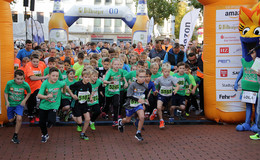 Die ersten Läufer - Bilderserie (1) von Gerhard Manns aus dem Zielbereich