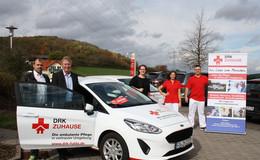 DRK Zuhause Weyhers: häuslicher Pflegedienst verstärkt Pkw-Flotte in Fulda